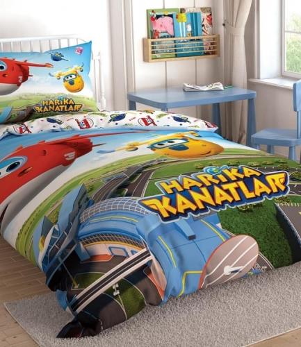 Комплект постельного белья Tac Disney Harika Kanatlar подростковое