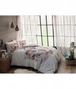 Комплект постельного белья Tac ранфорс Melissa V01 pembe семейный