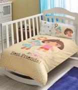 Комплект постельного белья Tac Dora Best Friends Baby младенцам