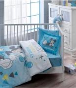 Комплект постельного белья Tac Disney Mickey Bubble Baby младенцам