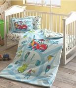 Комплект постельного белья Tac Disney Cars Traffic Baby младенцам