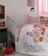 Комплект постельного белья Tac Disney S. Shortcake Paint Baby младенцам