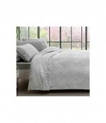 Комплект постельного белья с пике Tac Royal gri полуторный серый