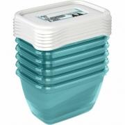 Комплект емкостей для морозилки прямоугольный Polar 6*0,25л 3011