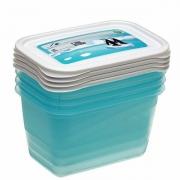 Комплект емкостей для морозилки прямоугольный Polar 4*0,75л 3013