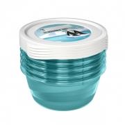 Комплект емкостей для морозилки круглый Polar 5*0,5л 3024