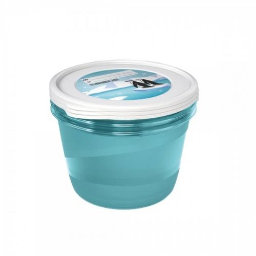 Комплект емкостей для морозилки круглый Polar 3*2,3л 3027