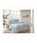 Комплект постельного белья Tac ранфорс Talia V01 полуторный ментоловый