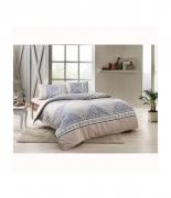 Комплект постельного белья Tac ранфорс Talia V02 полуторный розовый