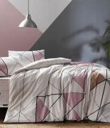 Комплект постельного белья Tac ранфорс Marvel V01 полуторный розовый