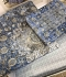 Комплект постельного белья Tac сатин Digital Monza V01 mavi евро