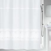 Шторка для ванной текстильная Spirella BRODERIE