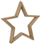 Декоративное украшение Звезда 33 см 73618