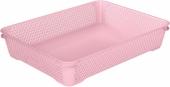 Ящик для хранения mini basket А-4 розовый 371.1