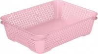 Ящик для хранения mini basket А-5 розовый 372.1