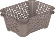 Ящик для хранения mini basket А-7 серо-коричневый 374.3