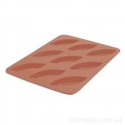 Форма силиконовая для выпечки кексов, 9 ячеек, 19х26х1,5см