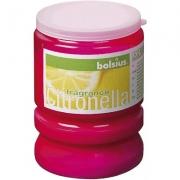 Свеча для вечеринки Partylight аромат Citronella цвет фуксия 419440
