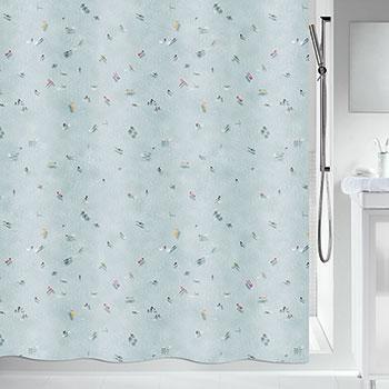 Шторка для ванной текстильная Spirella SWIMMING