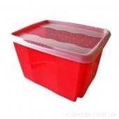 Ящик для хран.Ctack&Go с крышкой 30л