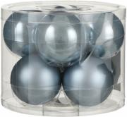 Елочные шарики комплект 8 шт цвет синий 25639