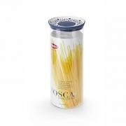 Емкость для хранения продуктов круглая 2,2л Tosca коричневая