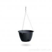 Горшок для цветов RATOLLA 215мм кругл. подвесной с цепочкой