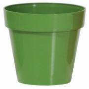 Горшок для цветов CUBE 250мм глянец Оливковый 79951-370