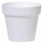 Горшок для цветов CUBE 250мм глянец Белый 79951-449