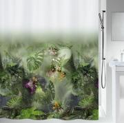 Шторка для ванной текстильная Spirella JUNGLE