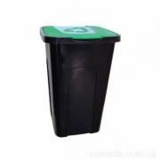 Контейнер для мусора 50л зеленый