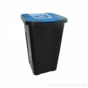 Контейнер для мусора 50л синий
