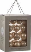 Елочные шарики комплект 26 шт цвет золотистый 39380