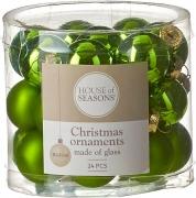 Елочные шарики комплект 10 шт цвет зеленый 39625