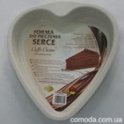 """Форма для выпечки """"Сердце"""" с антипригарным покрытием """"Caffe Creme"""""""