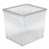 """Ящик для хранения """"Clearbox"""" 30л с крышкой"""