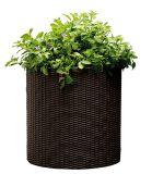 Горшок для цветов Cylinder Planter Medium, коричневый