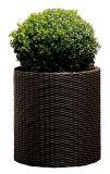 Горшок для цветов Cylinder Planter Large, коричневый