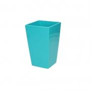 Горшок для цветов URBI 125мм квадратный Морская волна 70820-320