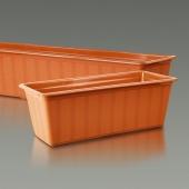 Балконный ящик для цветов АГРО 40см 15514