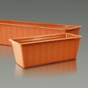 Балконный ящик для цветов АГРО 80см
