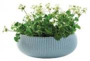 Горшок для цветов 54 см Cozies L, бирюза