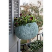 Горшок для цветов 36 см Cozies M, бирюза