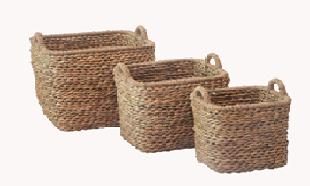 Корзина плетенная для хранения