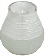 Свеча в стекле Patio light 94/91 Белая 180302