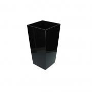 Горшок для цветов URBI 125мм квадратный Антрацит 70820-433