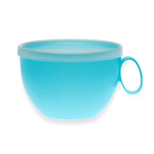 Чашка с крышкой 12см