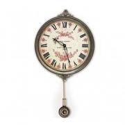 """Часы настенные с маятником """"Цветы"""""""