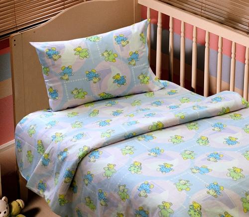 Детский комплект постельного белья «Добраніч»