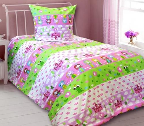 Детский комплект постельного белья «Моя принцеса»